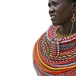 Maasai bead collar