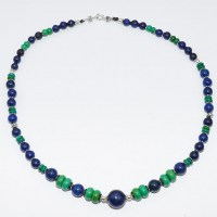 Lapis Lazuli and turqoiuse bead necklace