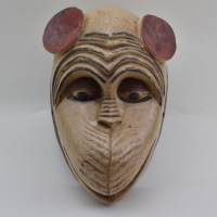 Baule African Mask of primate