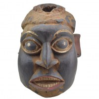 Cameroon helmet traditional mask