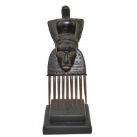 Decorative Baule Comb from Ivory Coast